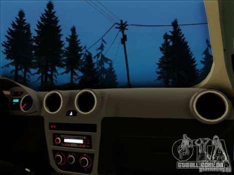 Volkswagen Saveiro 2014 para GTA San Andreas vista direita