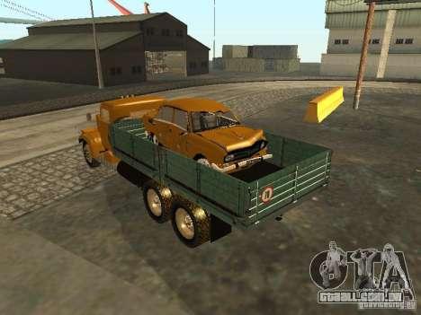 Mesa de caminhão KrAZ v. 2 para GTA San Andreas vista direita