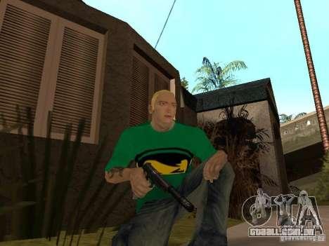 Pele Eminema para GTA San Andreas sétima tela