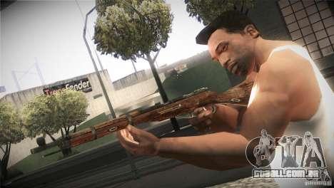 Weapon Pack by GVC Team para GTA San Andreas oitavo tela