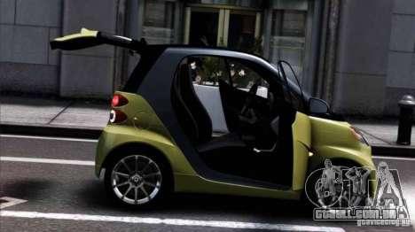 Smart ForTwo 2012 v1.0 para GTA 4 esquerda vista