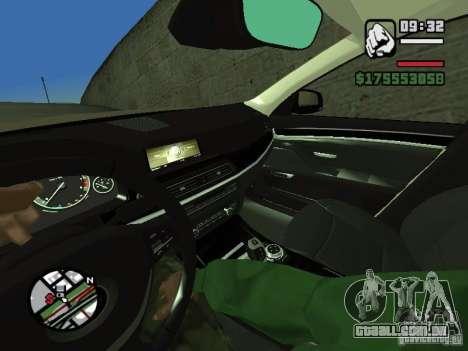 Primeira pessoa (primeira pessoa mod) para GTA San Andreas sexta tela