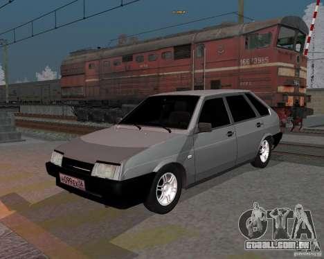 VAZ 2109 Sputnik para GTA San Andreas
