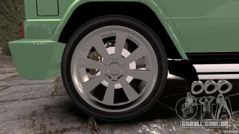 Mercedes-Benz G55 AMG para GTA 4 vista superior