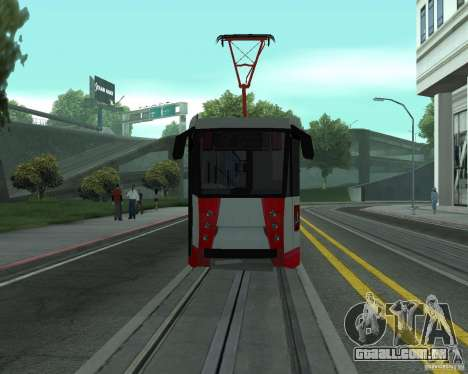 LM-2008 para GTA San Andreas vista interior