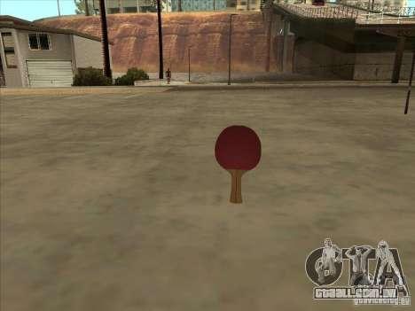 Raquete de tênis para GTA San Andreas
