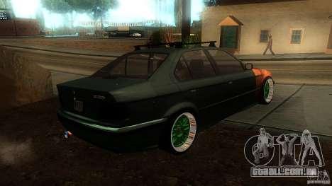 BMW E36 Daily para GTA San Andreas esquerda vista