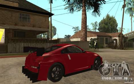 Nissan 350Z Supreme para GTA San Andreas vista direita