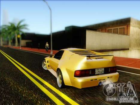 Diablo-Seven para GTA San Andreas esquerda vista