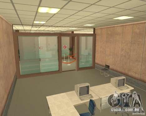 Banco em Los Santos para GTA San Andreas por diante tela