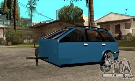 Trailer para o Volvo V40 para GTA San Andreas