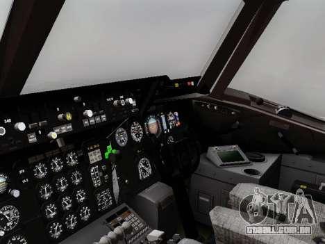 McDonell Douglas KC-10A Extender para GTA San Andreas vista traseira