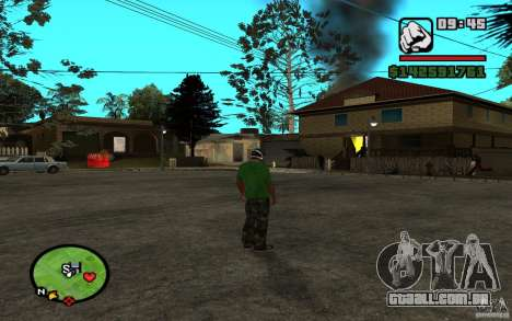 New Grove-Street para GTA San Andreas terceira tela