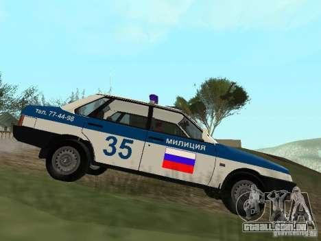 DPS VAZ 21099 para GTA San Andreas
