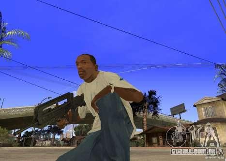 Famas-F1 para GTA San Andreas segunda tela