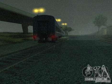 Interruptor rail shooter para GTA San Andreas segunda tela