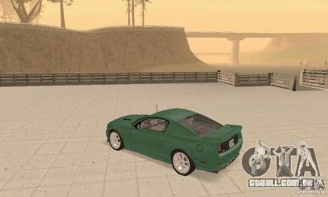 Saleen S281 v2 para GTA San Andreas vista interior