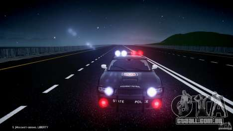Dodge Charger SRT8 Police Cruiser para GTA 4 rodas
