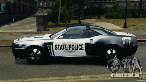 NFSOL State Police Car para GTA 4 esquerda vista