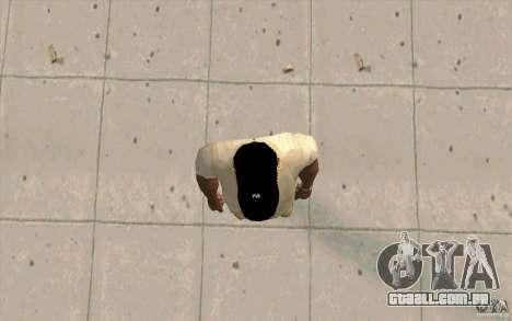 Cap newyorkyankiys preto para GTA San Andreas terceira tela