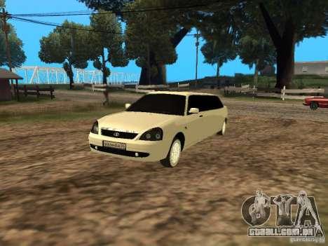 LADA Priora 2170 Limousine para GTA San Andreas