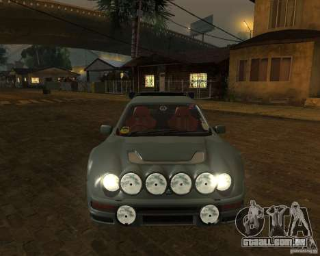 Ford RS 200 para GTA San Andreas vista traseira