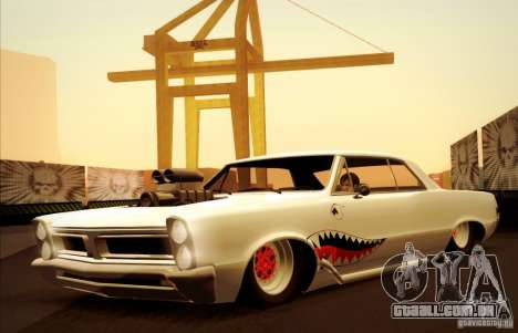 Pontiac GTO Drag Shark para vista lateral GTA San Andreas