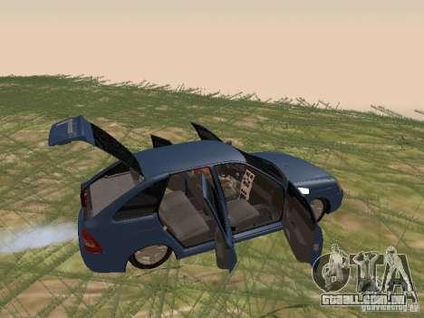 LADA 2170 Hatchback para GTA San Andreas vista traseira