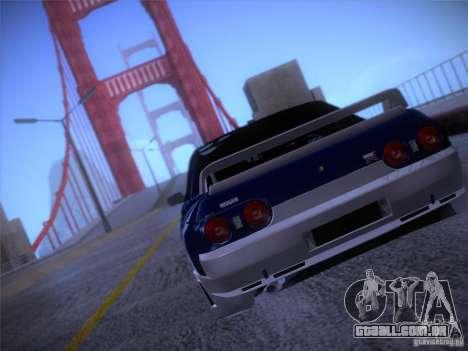 Nissan Skyline R32 Drift Tuning para GTA San Andreas vista direita