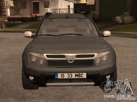 Dacia Duster para GTA San Andreas esquerda vista