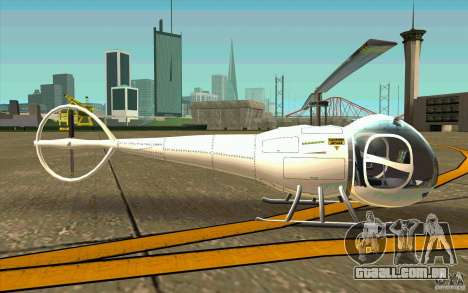 Dragonfly - Land Version para GTA San Andreas traseira esquerda vista