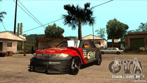 BMW 135i Coupe GP Edition Skin 2 para GTA San Andreas