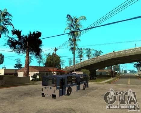 ZiU 52642 para GTA San Andreas traseira esquerda vista