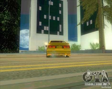 Ae86 tuned by Xavier para GTA San Andreas vista direita
