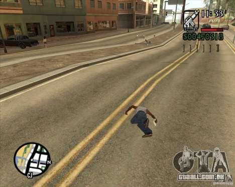 Endorphin Mod v.3 para GTA San Andreas décima primeira imagem de tela