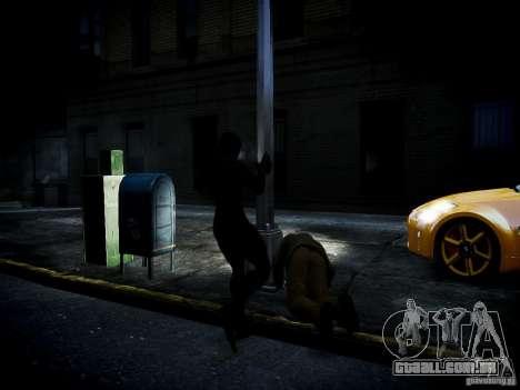 Spider Man Black Suit para GTA 4 por diante tela