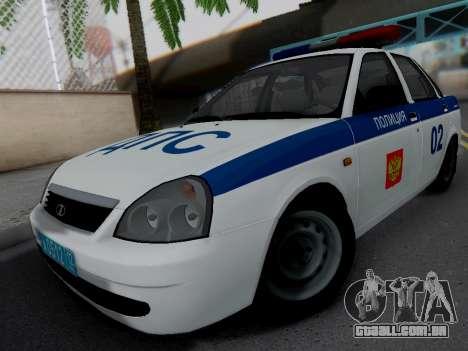 LADA 2170 DPS para GTA San Andreas