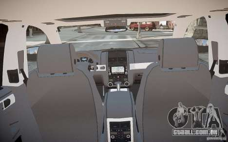 Volkswagen Touareg R50 para GTA 4 vista inferior