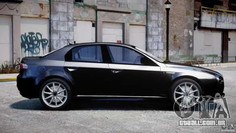 Alfa Romeo 159 Li v2 para GTA 4 esquerda vista