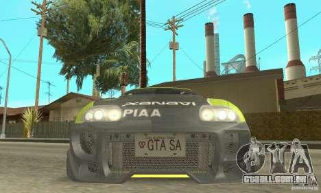 Toyota Supra Tunable 2 para as rodas de GTA San Andreas