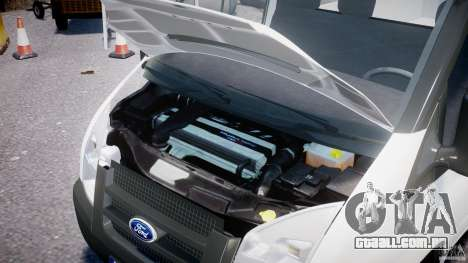 Ford Transit Pickup 2008 para GTA 4 vista de volta