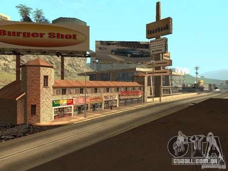 Nova rua Mullholland-novo Mulholland para GTA San Andreas
