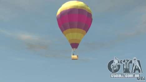 Balloon Tours option 9 para GTA 4 esquerda vista