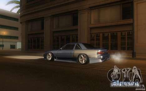 Nissan Silvia S13 Odyvia para GTA San Andreas esquerda vista