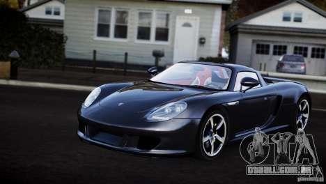 Porsche Carrera GT V1.1 [EPM] para GTA 4 traseira esquerda vista