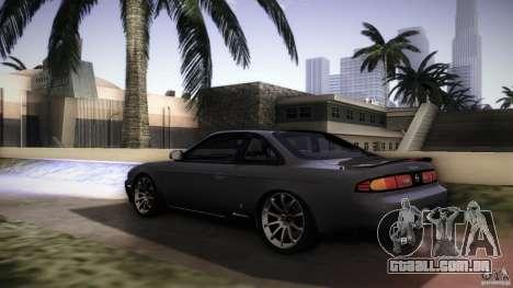 Nissan Silvia S14 Zenk para GTA San Andreas esquerda vista