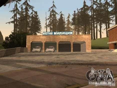 A aldeia de Ivanovka para GTA San Andreas oitavo tela