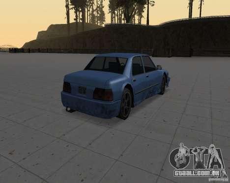 Máquinas sem sujeira para GTA San Andreas segunda tela