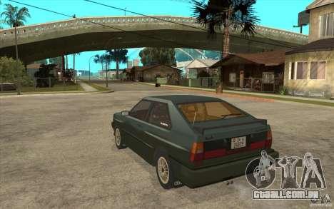 Audi Quattro para GTA San Andreas traseira esquerda vista