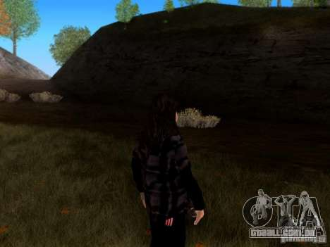 Skrillex para GTA San Andreas segunda tela